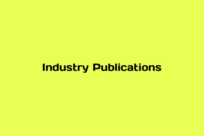 online advertising industry publications