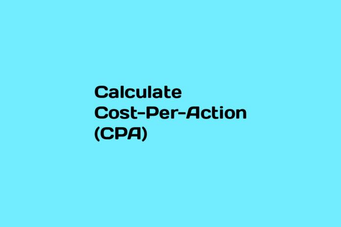 calculate cpa