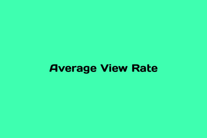 programmatic101-what-is-Average-View-Rate