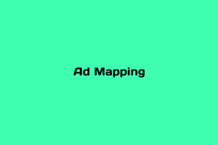 what is ad mapping