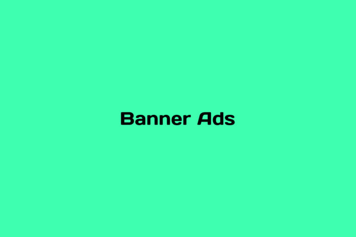 what are banner ads