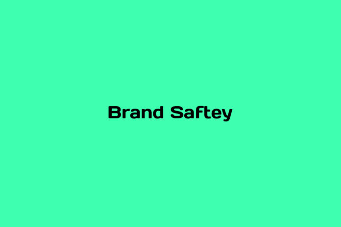 what is brand safety
