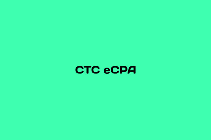 What is CTC eCPA