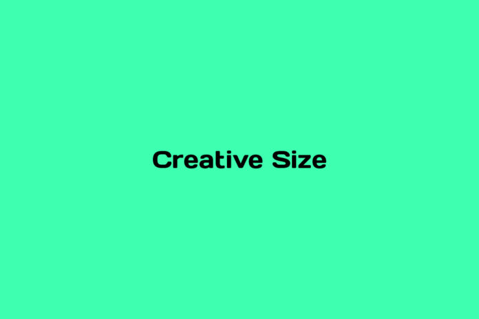What is Creative Size
