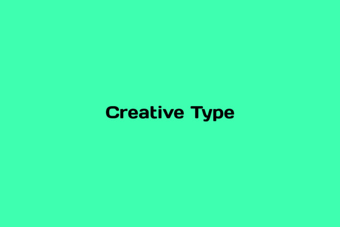 What is Creative Type