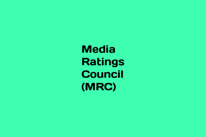 What is Media Ratings Council (MRC)