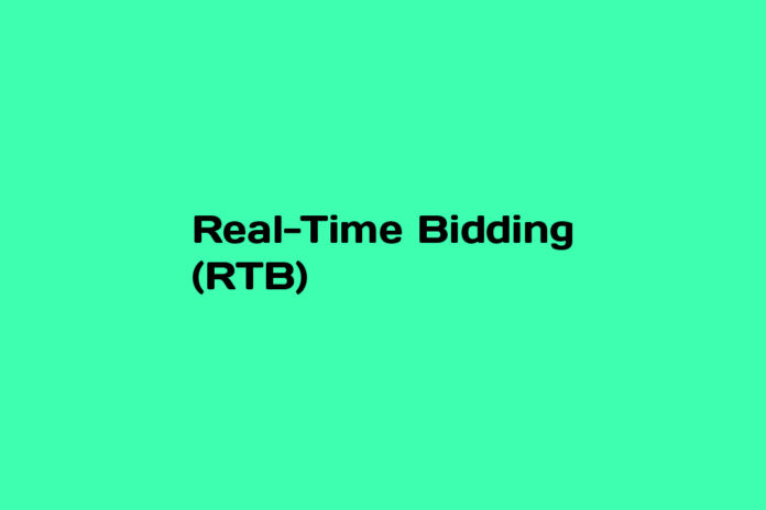 What is Real-Time Bidding (RTB)