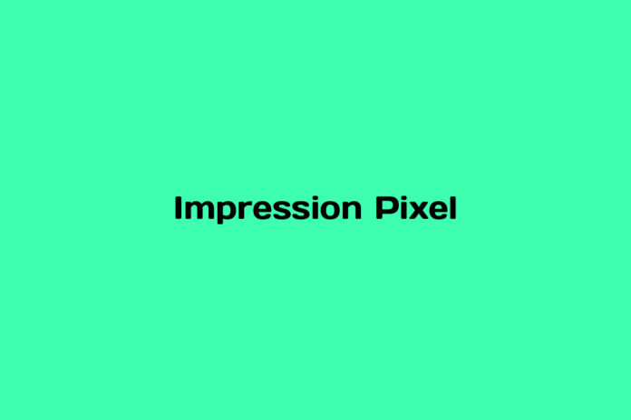 What is Impression Pixel